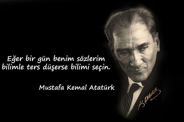 Bilim Sözleri Atatürk
