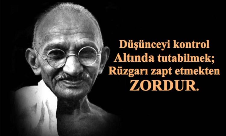 En güzel Gandhi sözleri