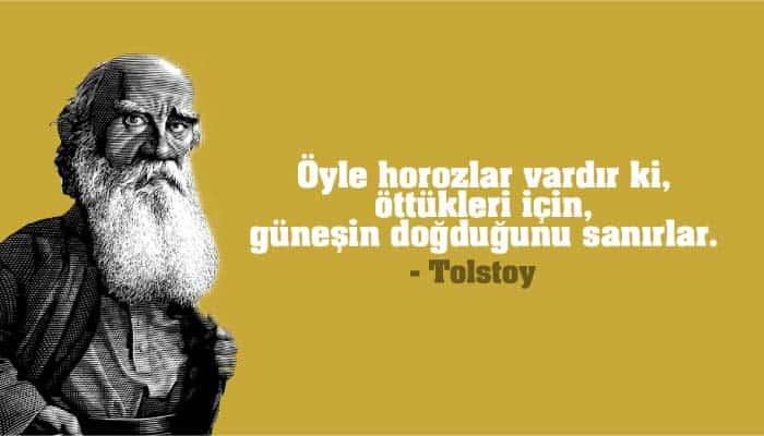 Tolstoy Sözleri Kitap Alıntıları