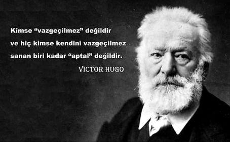 Resimli Victor Hugo Sözleri
