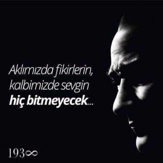 En güzel Atatürk ile ilgili resimli sözler