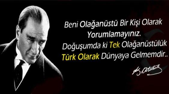 Etkileyici Atatürk Sözleri Resimli