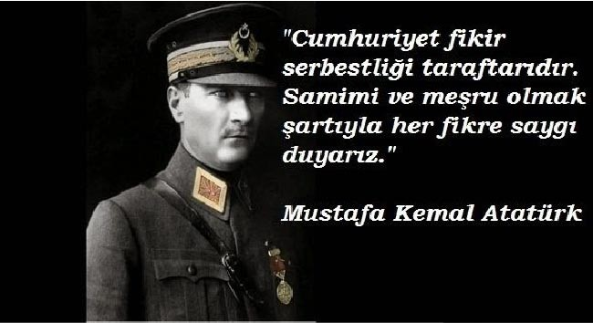 Atatürk Cumhuriyet Sözleri