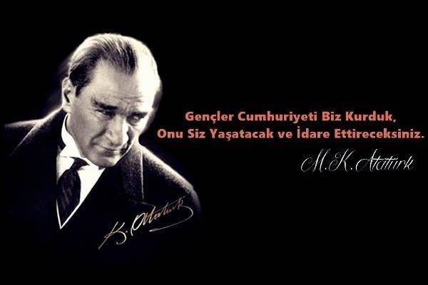 Atatürk'ün Gençlik Sözleri