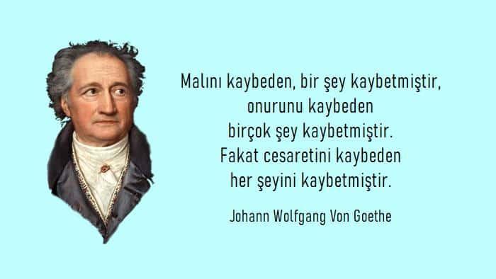 En Güzel Goethe Sözleri