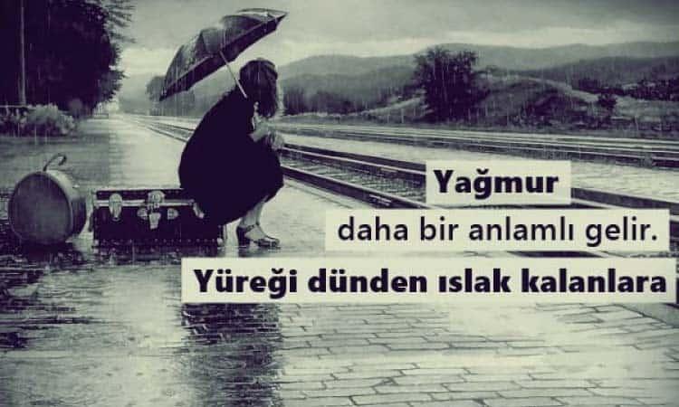 En Güzel Yağmur Sözleri