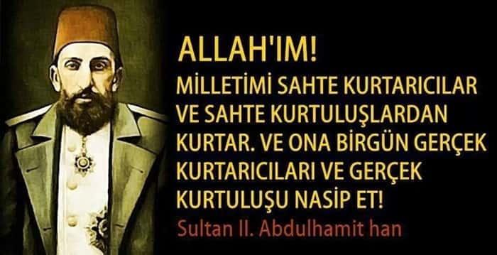 Sultan Abdülhamid Han Sözleri