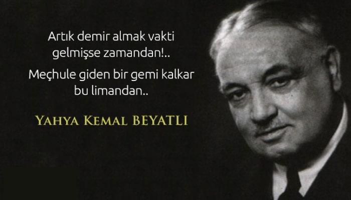 Yahya Kemal Sözleri Resimli