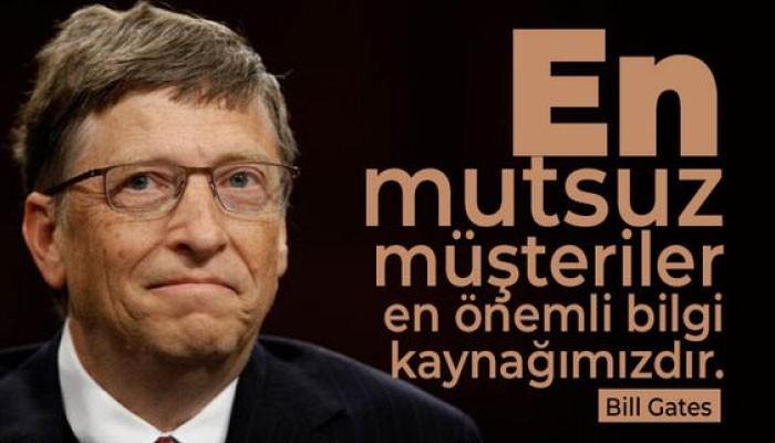 Bill Gates Sözleri Resimli