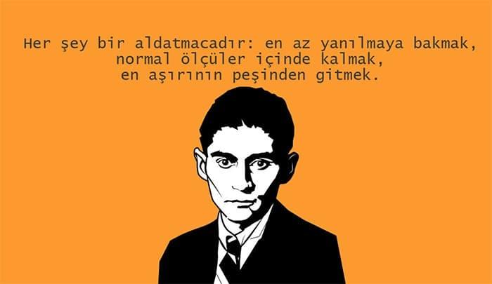 Franz Kafka Sözleri Resimli