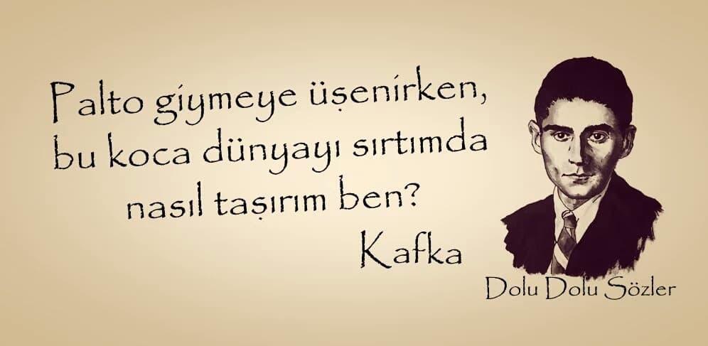 Resimli Franz Kafka Sözleri