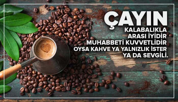 Resimli kahve ile ilgili aşk sözleri