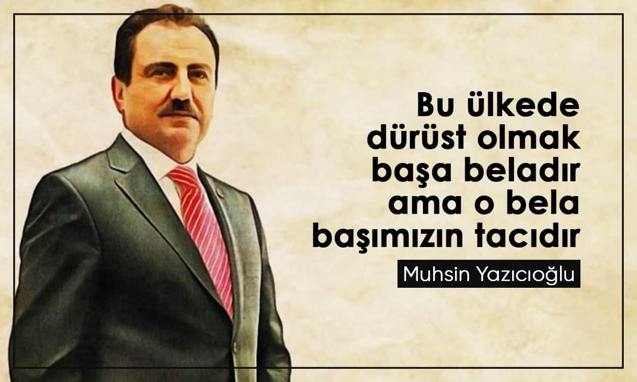 Resimli Muhsin Yazıcıoğlu Sözleri