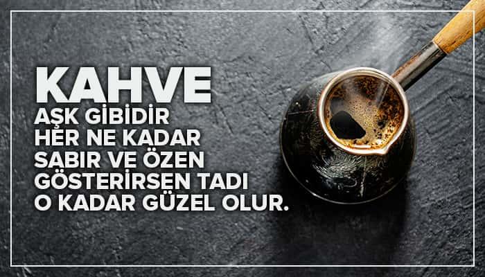 En güzel kahve sözleri