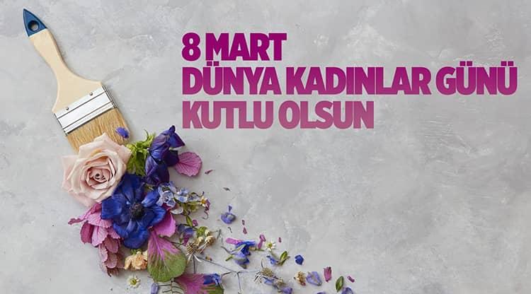 8 Mart Resimli Kadınlar Günü Sözleri